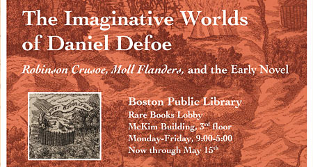 Image of The Imaginative Works of Daniel Defoe: Robinson Crusoe, Moll Flanders, and the Early Novel flyer