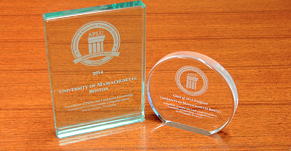APLU Selects UMass Boston for 2014 Innovation and Economic Prosperity University Award