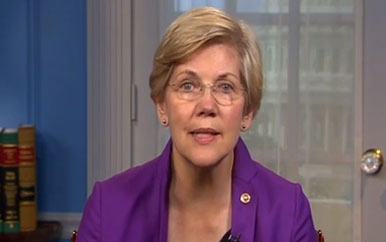 Senator Elizabeth Warren's message for the Pension Action Center