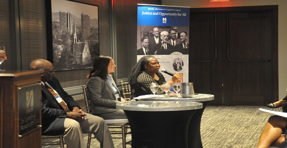 "Center for Social Policy hosts its ""Building Opportunities for Communities of Color"" event"