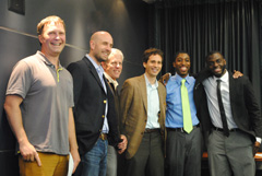 2012 UMass Boston Business Launch Competition Winners and Judges