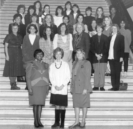 The Center for Women in Politics and Public Policy was born from the Graduate Certificate Program for Women in Politics & Government, founded by Betty Taymor in 1968.