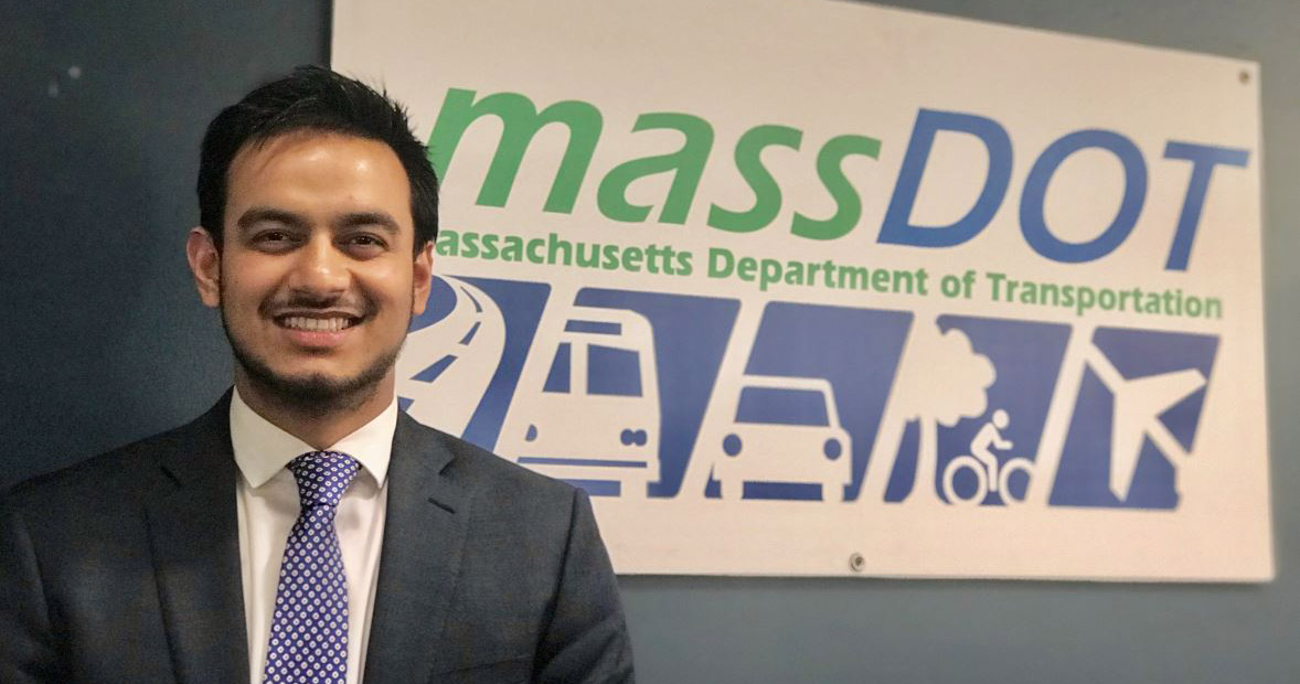 Mohammed Uddin '19 Develops Leadership and Professional Skills With McCormack's 4+1 Program