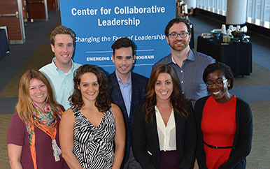A team of Emerging Leaders Program fellows in the 2016 cohort