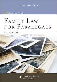 Family Law for Paralegals book cover