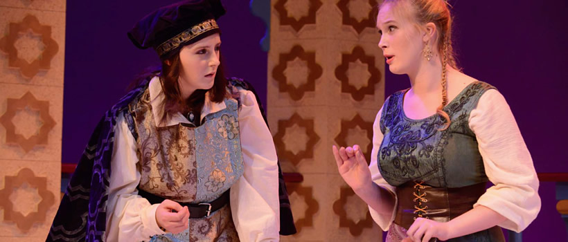 Theater Arts majors perform Twelfth Night