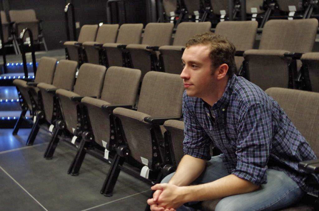 Patrick McCarthy in University Hall Theatre