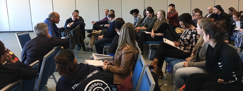 Discussion and Interview of Charles Mills by students at UMass Boston