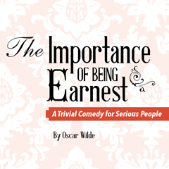 Importance of being earnest logo