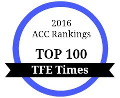 2016 ACC Rankings Top 100 TFE Times