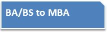 BA/BS to MBA button