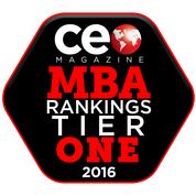 CEO Magazine MBA Rankings Tier One logo