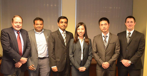 UMass Boston Team to Compete in CFA Institute Research Challenge