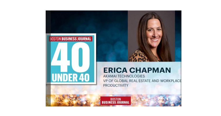 UMass Boston Alumna Erica Chapman '03 Recognized in Boston Business Journal's 40 Under 40