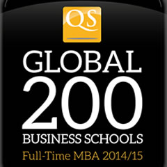 QS Global 200 Business Schools logo