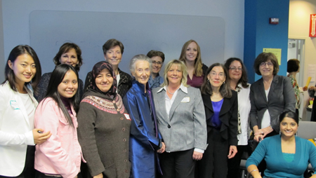 Photo: Doctoral Students and Faculty at the Fourth Annual UMass 5-Campus PhD Nursing Student Forum, October 2, 2012