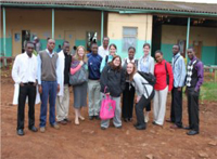 MeKijabe Team after a long tiresome day of health screening at Lari Health Center.