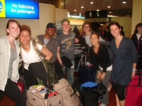The US team members arrive in Nairobi, the beginning of an incredible journey.