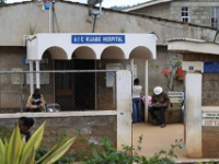 Main entrance of Kijabe Hospital.