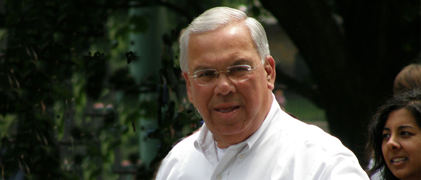 Committed to public service, Former Mayor Tom Menino studied Community Planning and graduated in 1988 from CPCS