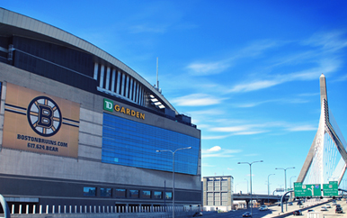 Image of the TD Garden.