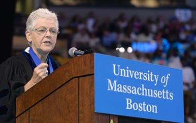 2015 Commencement Speaker Gina McCarthy '76