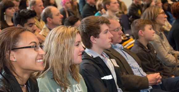 More than 400 Guests Attend Undergraduate Admissions' Spring Visit Day