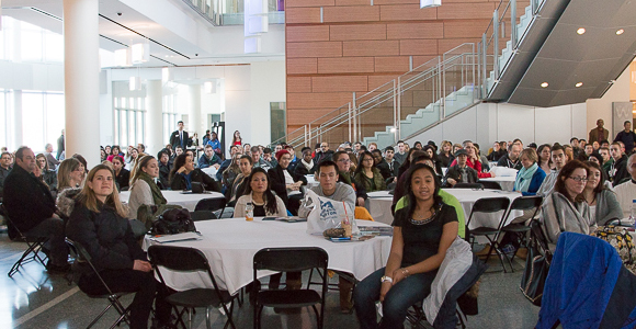 Over 300 Accepted Students Visited Campus for Welcome Day Activities