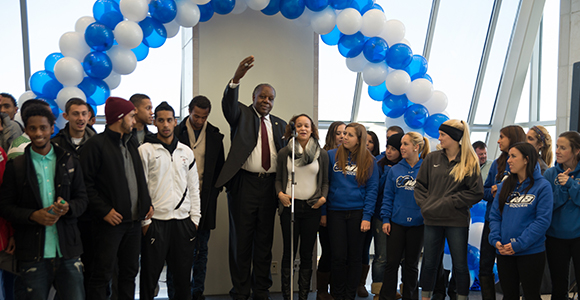 UMass Boston Community Celebrates Fall Student-Athletes