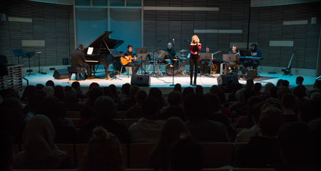 UMass Boston students take the stage on Jazz Night