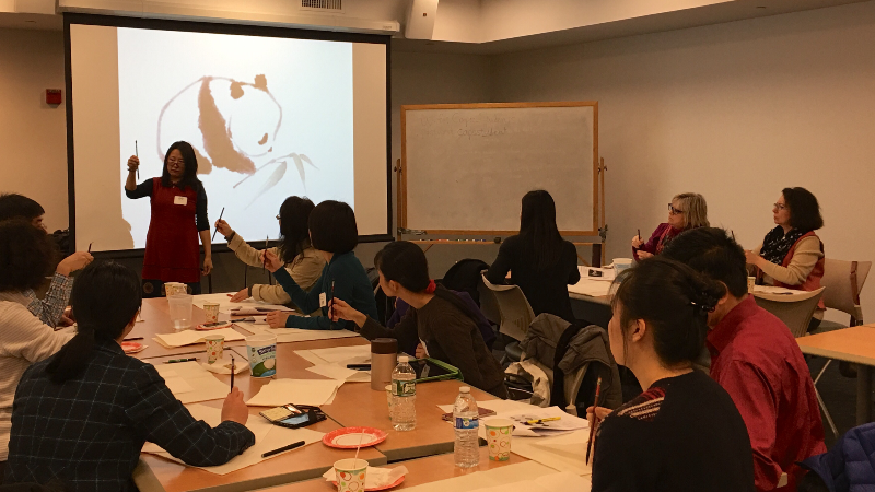 Confucius Institute Holds Workshop and Gives Presentations in March