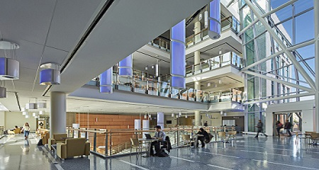 The Integrated Sciences Complex, photo by Robert Benson.