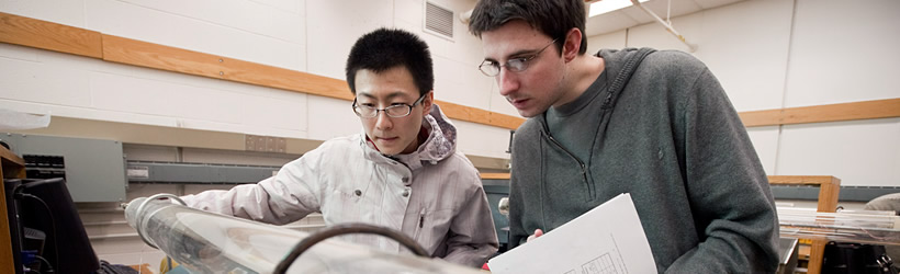 Students in UMass Boston's Physics Department