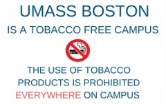 UMass Boston is a Tobacco Free Campus