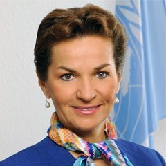 Christiana Figueres, Executive Secretary of the United Nations Framework Convention on Climate Change