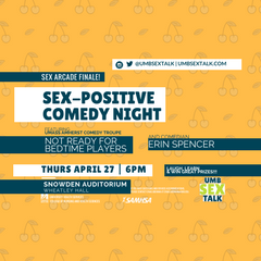 sex positive comedy night