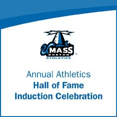 Text that says Annual Athletics Hall of Fame Induction Celebration