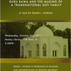 Flyer for Frank J Korman lecture with location information