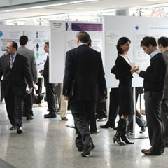 Picture of poster presentation
