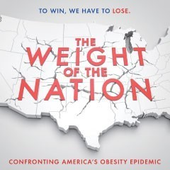 Weight of the Nation logo: To win we have to lose: Confronting America's obesity epidemic