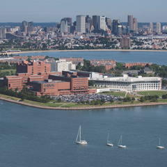 The University of Massachusetts Boston is on the water, minutes from downtown Boston.