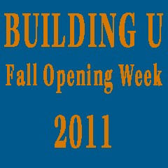 Building U: Fall Opening Week 2011 logo
