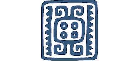 Gastón Institute logo, blue over white