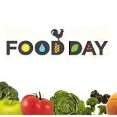 Image that says Food Day