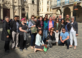 Faculty, staff, and students just completed a weeklong study tour of Cuba.