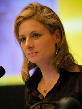 Lisa Randall speaks IDEAS Boston 2005