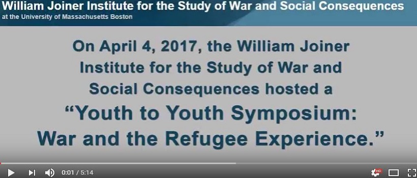 Link to YouTube to watch the video of the Youth Symposium