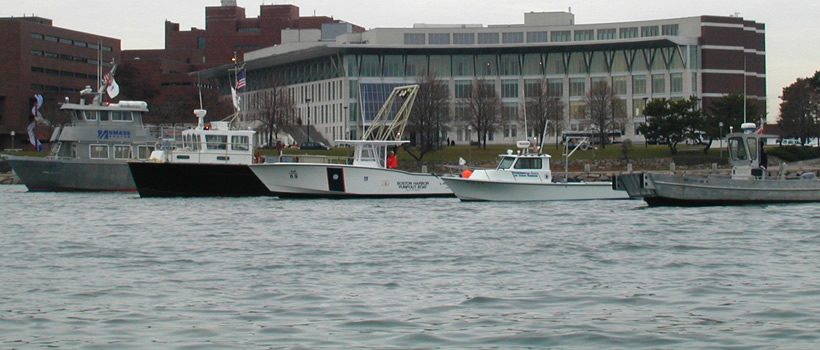 One of the Division of Marine Operations' boats