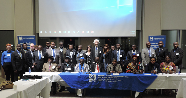 Faculty Profiles: Setting the Table for Peace with the Cameroonian Diaspora