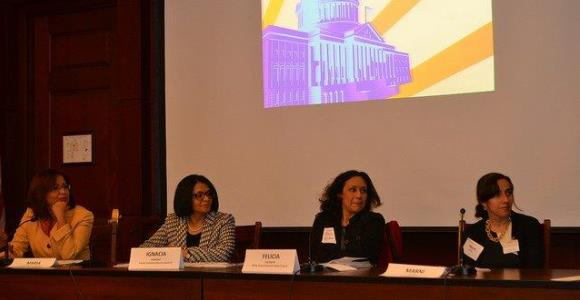 A powerhouse panel at a previous LatinasRepresent event held in Washington, DC featuring Ignacia Moreno, Former Assistant Attorney General